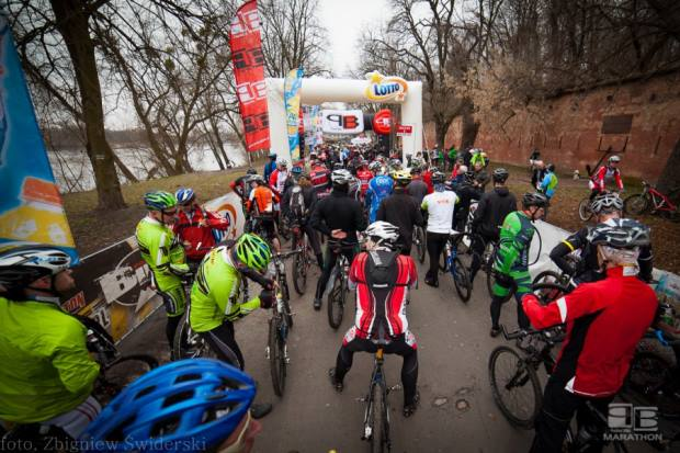 Northtec MTB Zimą 2017-01-22, Jabłonna (Chotomów)